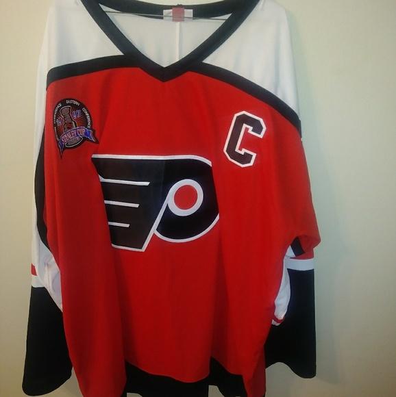 2c6d5efa2 Authentic Eric Lindros Philadelphia Flyers 3XL-56.  M 5b53e03a9fe486954c17d9c8
